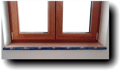 Pin pietra lavica per soglie e davanzali arredamento casalinghi in on pinterest - Davanzali finestre in pietra ...
