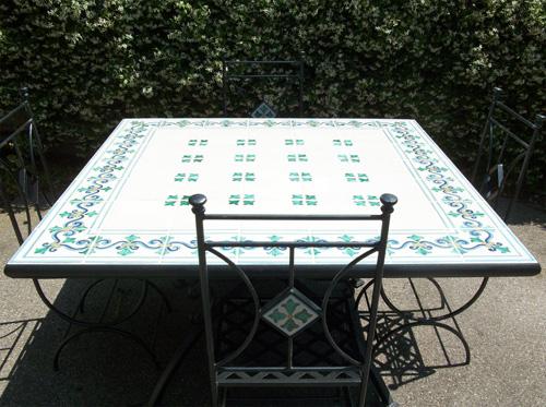 Tavoli Da Giardino In Ceramica Di Vietri.Tavoli In Ceramica Di Vietri Giuseppepinto